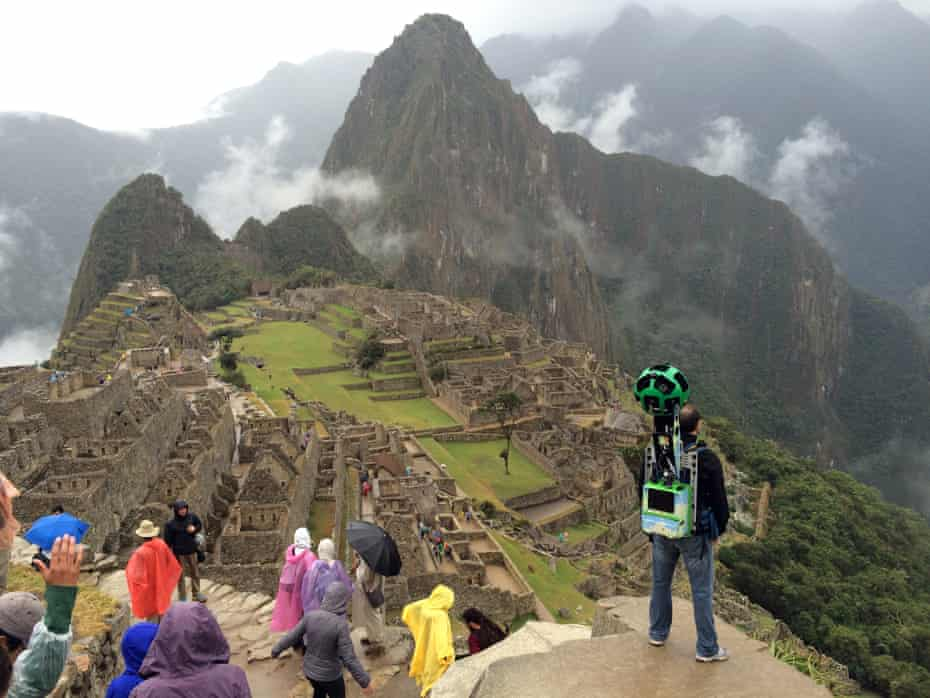 The Guardian accompanied the Google Trekker team when they mapped Machu Picchu in 2015.
