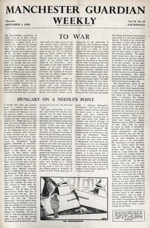 Guardian Weekly, 1 November 1956