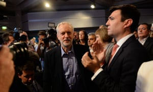 Andy Burnham lost out to Jeremy Corbyn in last year's Labour leadership race.