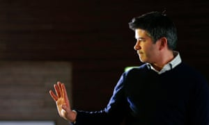 Uber CEO Travis Kalanick. A judge ruled he must face claims he conspired with drivers to ensure they charge prices set by an algorithm, including 'surge pricing'.