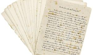 The Adventure of the Greek Interpreter manuscript