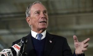 Michael Bloomberg won't be running.
