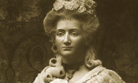 Self-portrait of a businesswoman ... Marie Tussaud's waxwork.