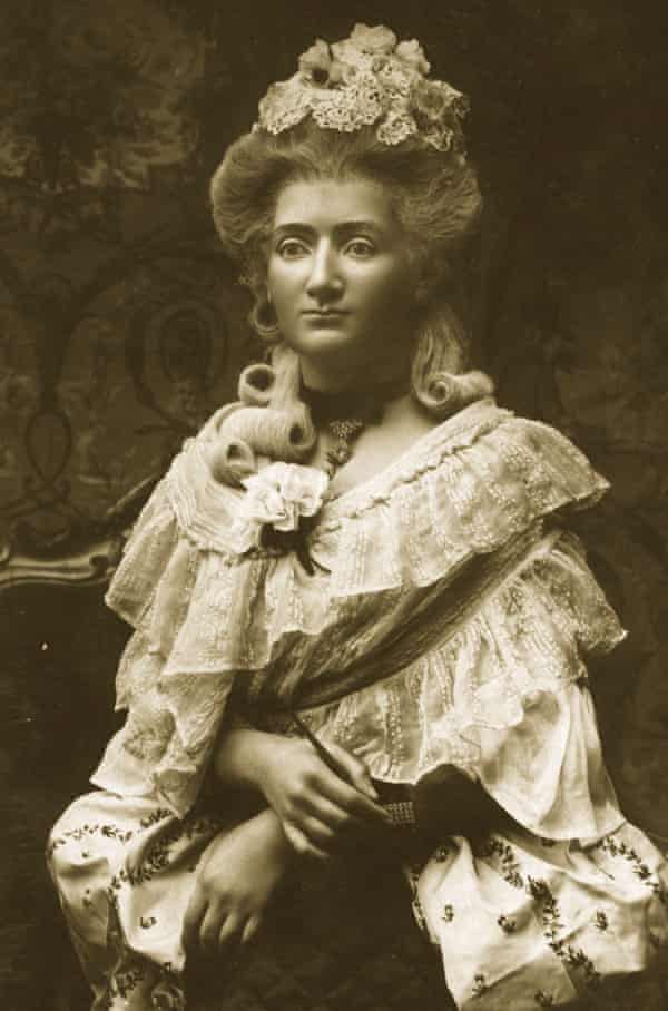 A waxwork of Marie, Madame Tussaud.
