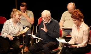 A rehearsed reading of Living Quarters.
