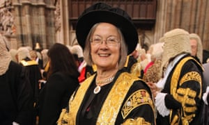 Baroness Hale of Richmond, still the only female supreme court judge, says the legal elite is practising 'unconscious sexism'.