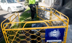 The NBN being rolled out in Sydney