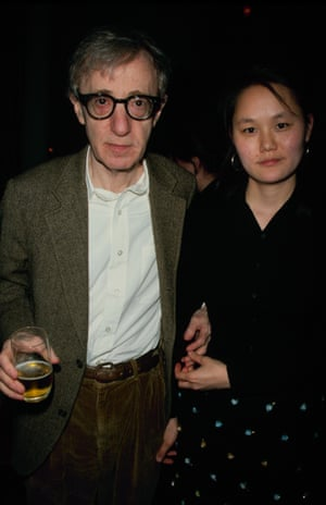 Allen with Soon-Yi Previn around the time their relationship became public.
