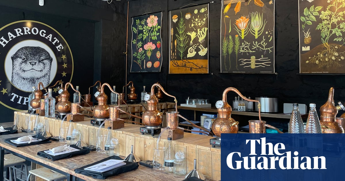 Get spirited away on a gin-making adventure in North Yorkshire