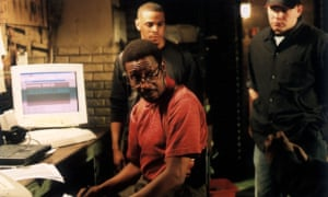 As Detective Lester Freamon in The Wire.