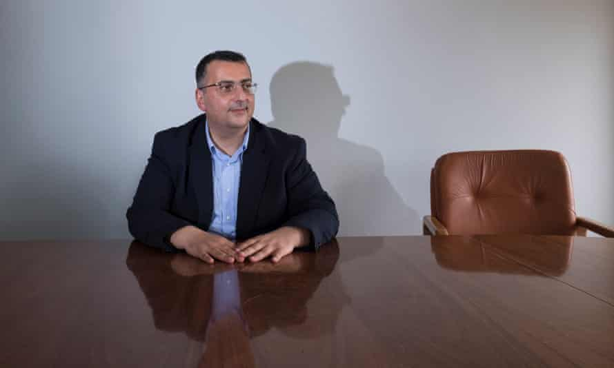 Gaspare Giacalone, mayor of Petrosino. Sicily, Italy, 2018.