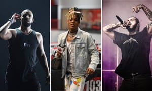 Drake, Post Malone and XXXTentacion are most-streamed