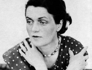 Caresse Crosby who formed her own publishing firm Black Sun in Paris 1933