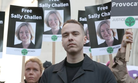 David Challen, the son of Sally Challen who the family say was coercively controlled by her husband whom she admits to killing.