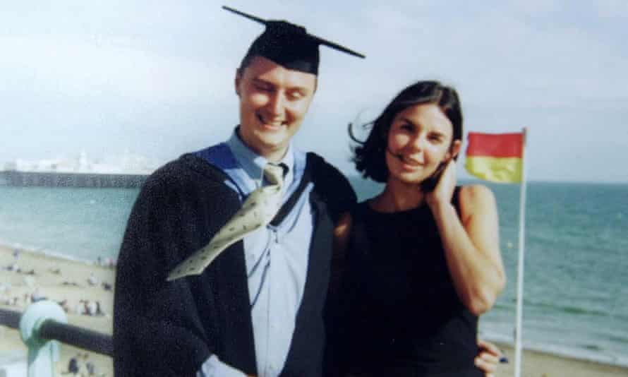 Peter Falconio with and his girlfriend Joanne Lees.