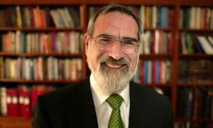 Former chief rabbi Jonathan Sacks