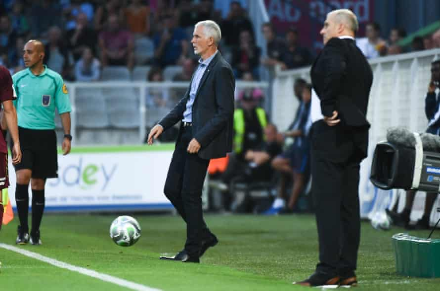 Auxerre coach Francis Gillot has a rebuilding job to do at at the club this season