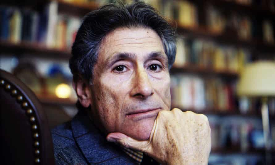 'Star quality': Edward Said in his office at Columbia University, New York, February 2003.
