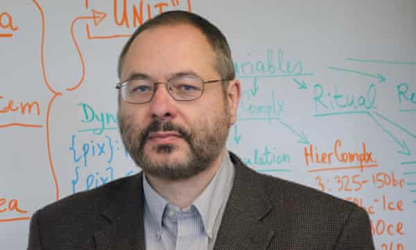 Peter Turchin, a professor of ecology and evolutionary biology, anthropology and mathematics at the University of Connecticut.