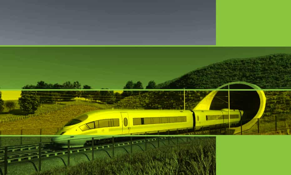 HS2 engineering support Arup train