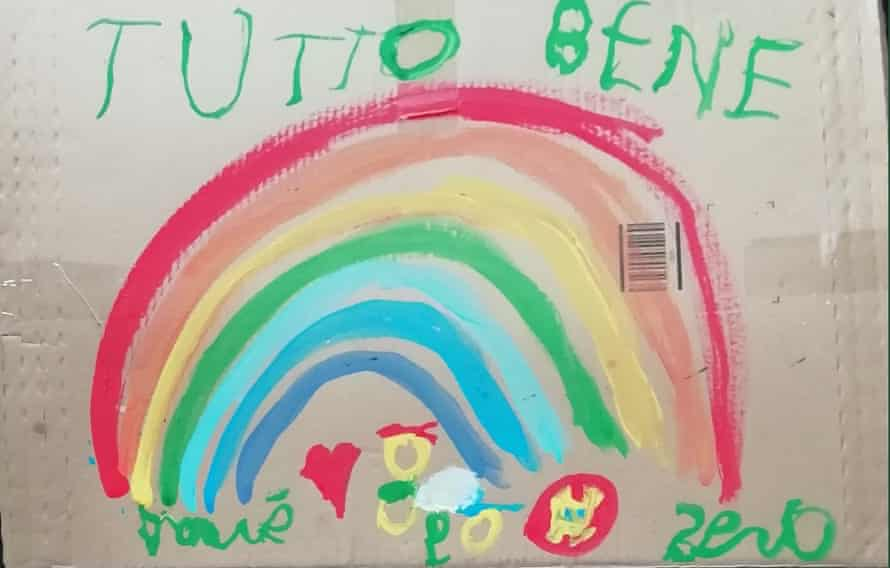 The drawing of a five-year-old from near Turin