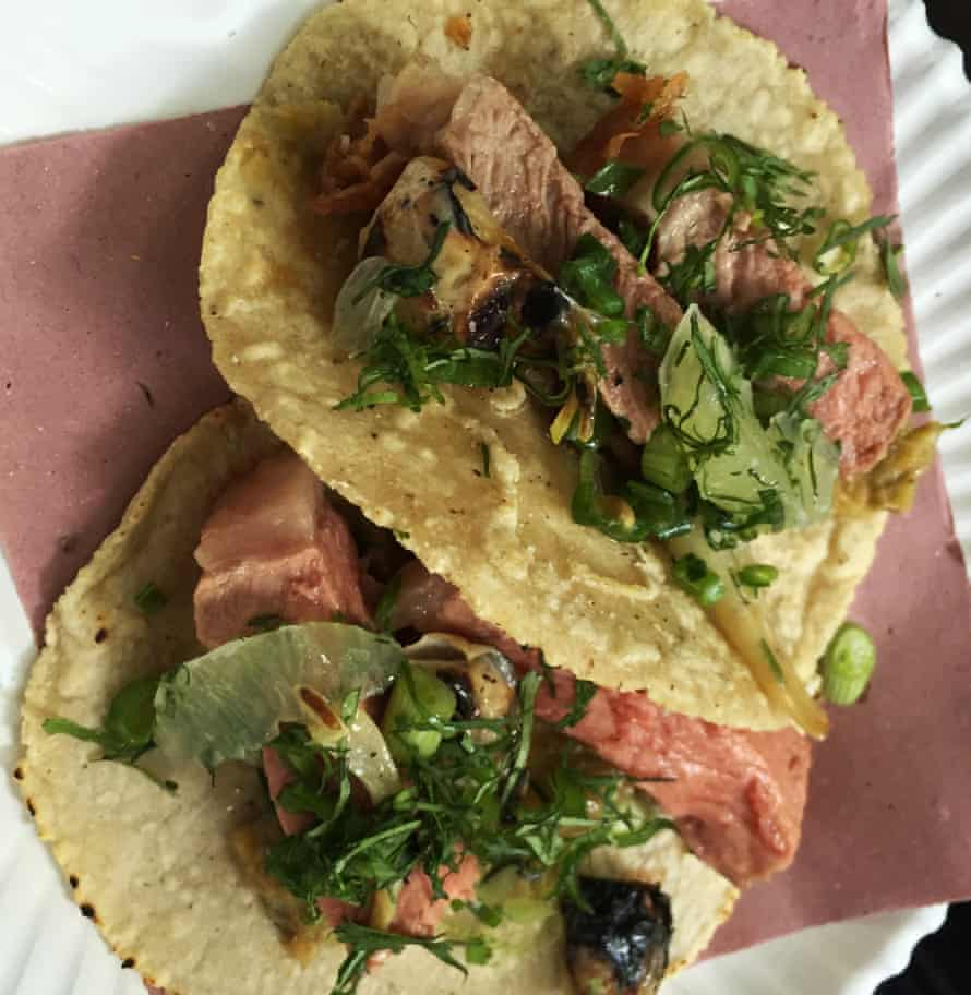 Refined tacos at Fonda Fina
