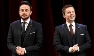 Ant McPartlin and Declan Donnelly present the Prince's Trust Celebrate Success Awards.
