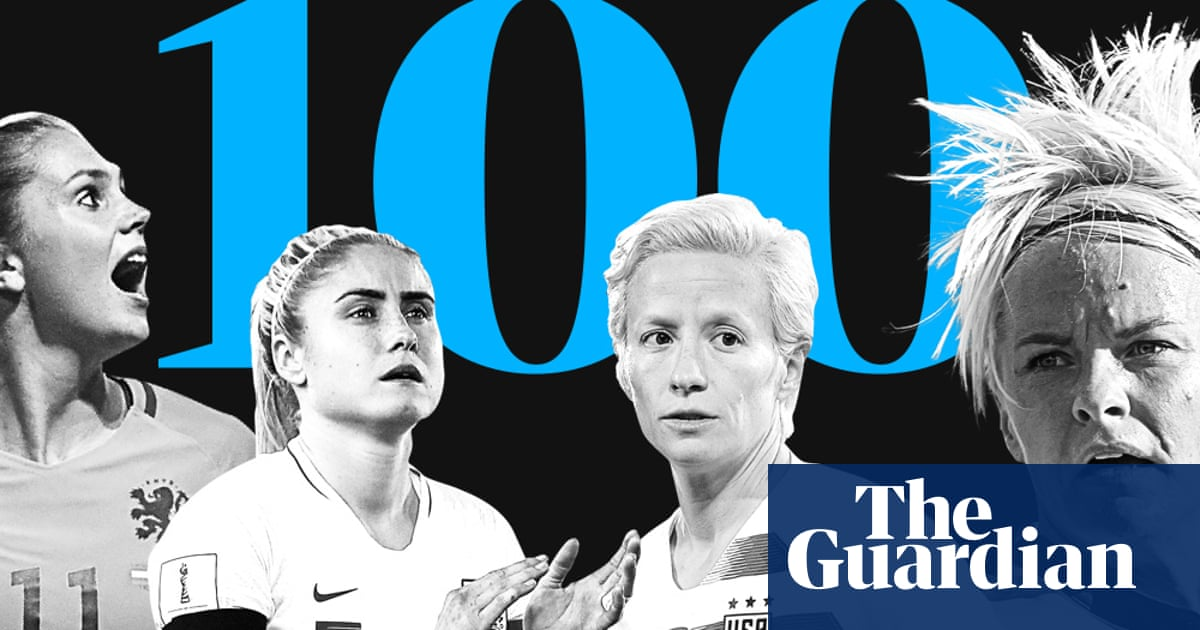 The 100 best female footballers in the world 2018