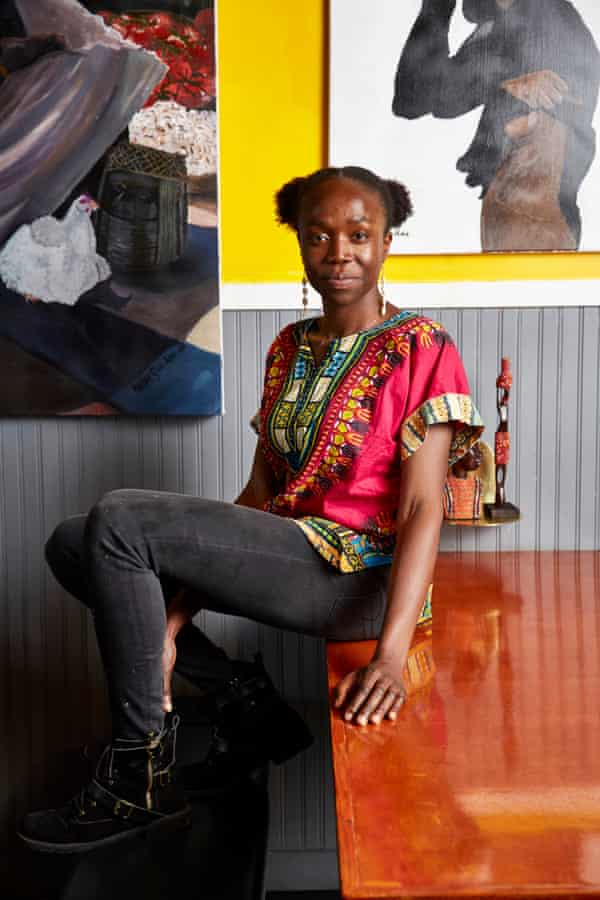 Simileoluwa Adebajo has recreated in her restaurant her experiences growing up in Nigeria.