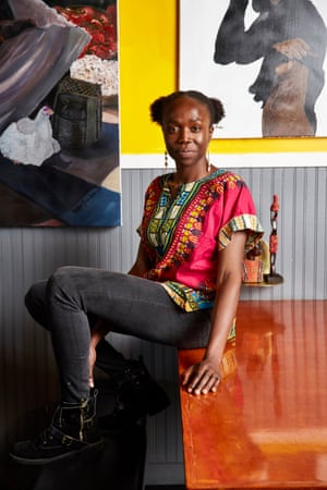 Simileoluwa Adebajo has recreated in her restaurant her experiences growing up in Nigeria.