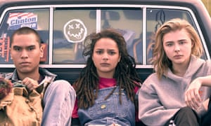 Forrest Goodluck, Sasha Lane and Chloë Grace Moretz in The Miseducation of Cameron Post.