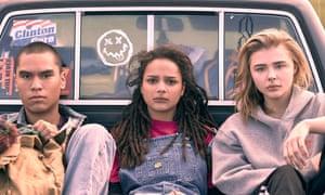 Forrest Goodluck, Sasha Lane and Chloë Grace Moretz in The Miseducation of Cameron Post.