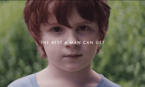 Screenshot from We Believe: The Best Men Can Be, a short film by Gillette addressing toxic masculinity.