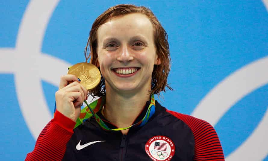 Katie Ledecky claims her second gold of the Games.