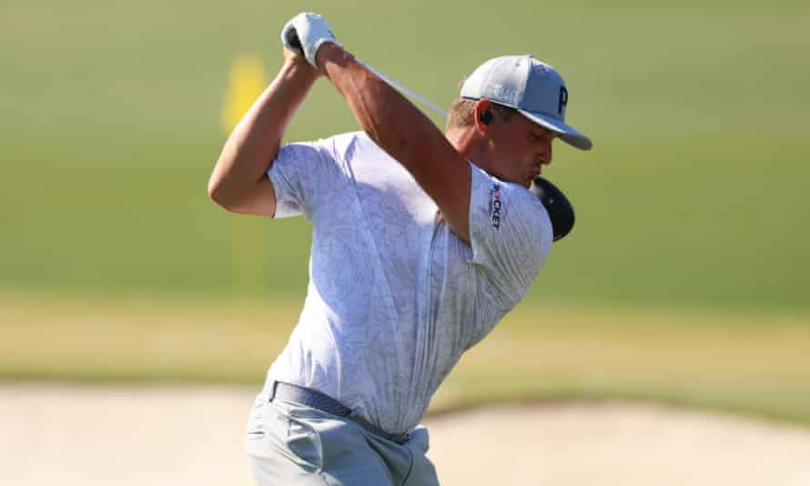 DeChambeau is sharpening his game ahead of the opening round
