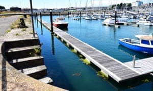 King Point marina at Millbay dock, Plymouth.