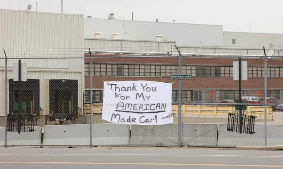 Desperately sad … an image from The Last Truck, Reichert and Bognar's short film about the GM plant's closure in 2008.