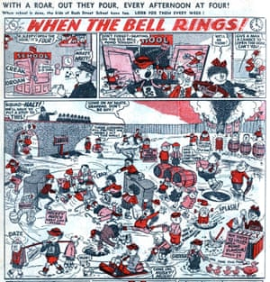 The Bash Street Kids began life as When the Bell Rings in the early 1950s.