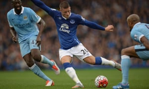 Local boy Ross Barkley will be a key figure for Everton in Sunday's derby against Liverpool.