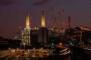 Battersea at dusk, London | Ron Tear | Lines in the Landscape special award Runner Up