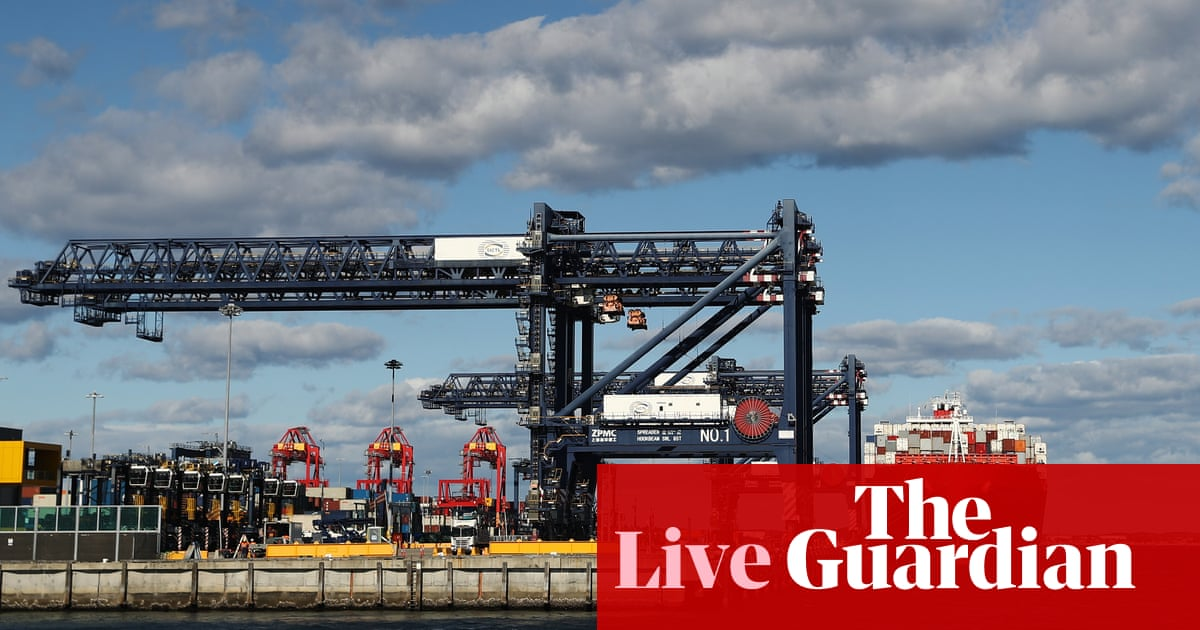 Australia news live: NSW Health testing dock workers who boarded Covid ship; vaccine rollout reset