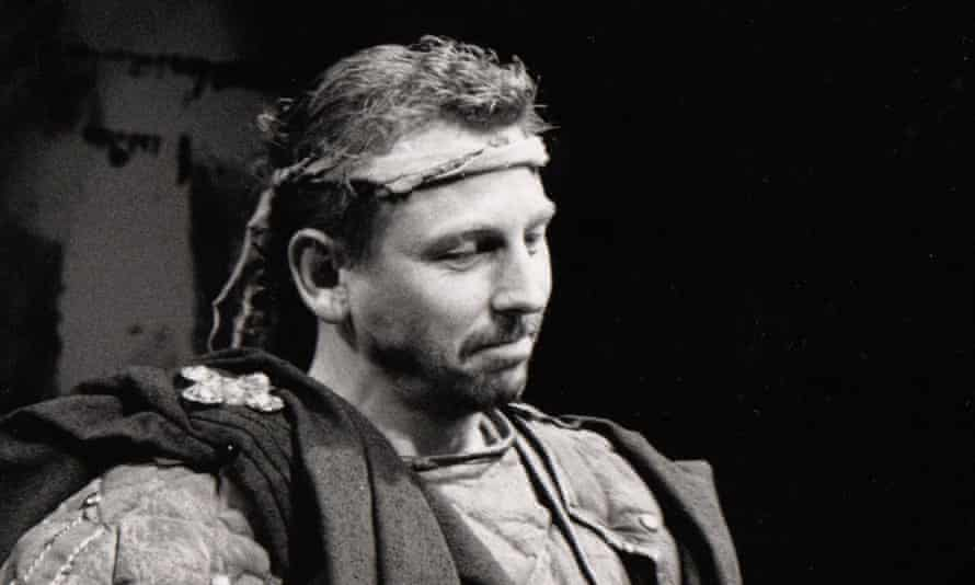 Peter Craze in his final stage appearance, as Banquo at the Redgrave theatre in Farnham, Surrey in 1989.