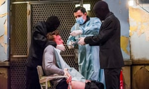 'We're afraid of that dark female voice' … Cleansed by Sarah Kane at the National theatre.