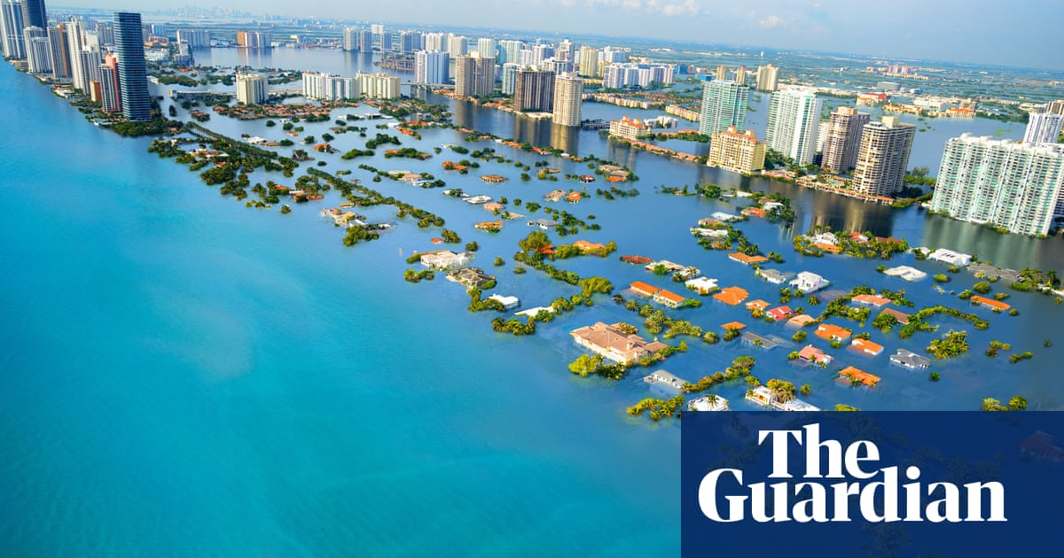 Sea levels set to keep rising for centuries even if emissions targets met | Sea  level | The Guardian