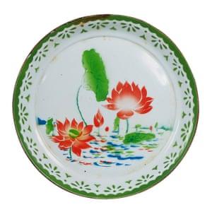 Large serving dish, £32, in vintage enamel, ceraudo.com