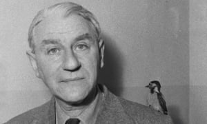 Maxwell Knight, pictured with Goo the cuckoo.
