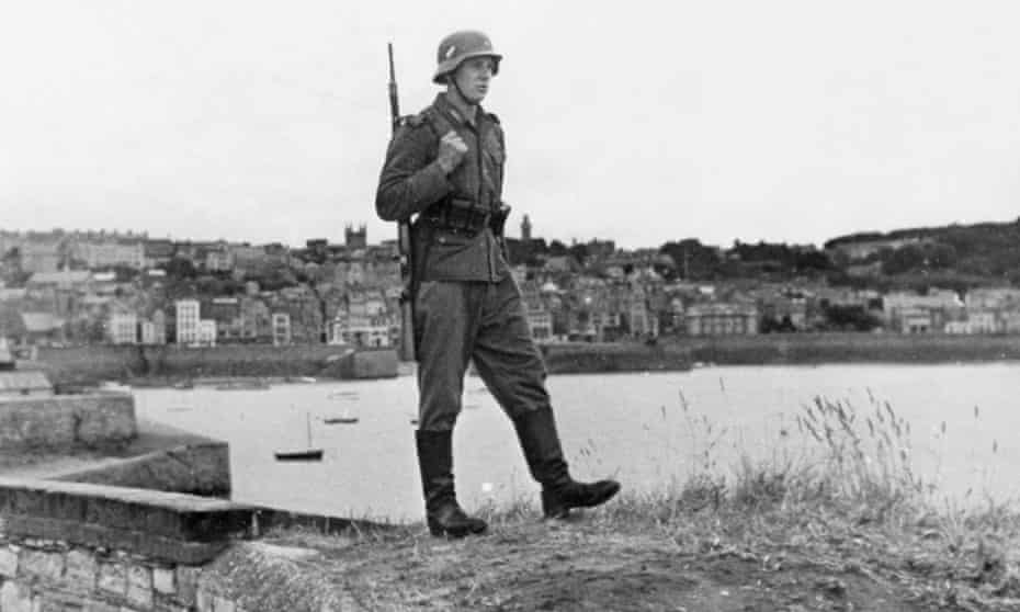 The German occupation of Guernsey began in 1940 and lasted until 1945.