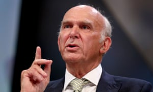 Vince Cable was business secretary in the coalition government.