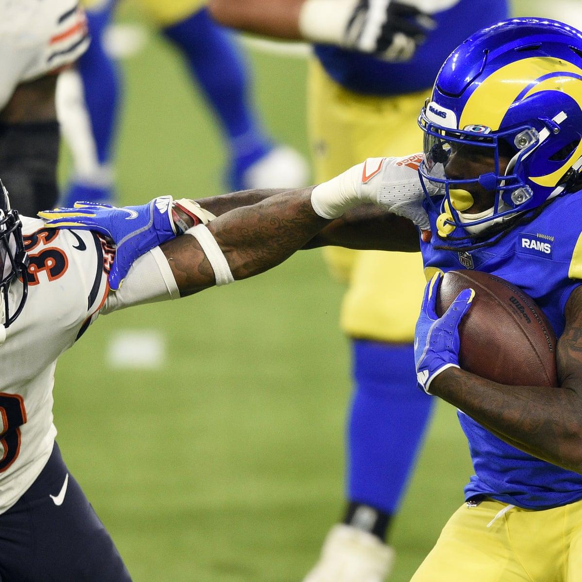 La Rams Dominate Chicago Bears In Rivals Latest Defensive Slugfest Nfl The Guardian