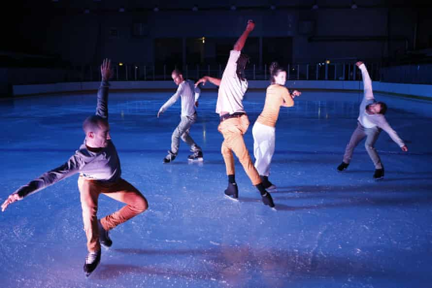 Le Patin Libre on the ice at Murrayfield.